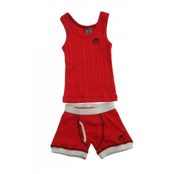 Skivvies Set - Red