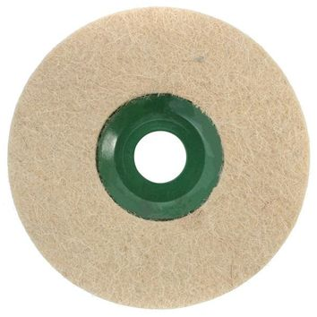 5 Inch Round Polishing Wheel Wool FELT Polishers Pad For Marble Stone Furniture