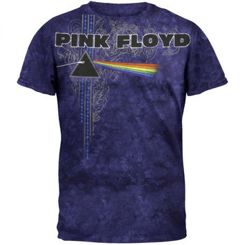 Pink Floyd - Time To Breathe Tie Dye T-Shirt
