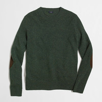 FACTORY TALL DONEGAL ELBOW-PATCH SWEATER