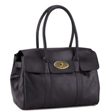 Mulberry Bayswater Cognac Leather Shoulder Bag