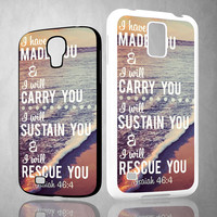 bible bible quotes X1264 Samsung Galaxy S3 S4 S5 (Mini) S6 S6 Edge,Note 2 3 4, HTC One S X M7 M8 M9 Cases