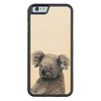 Koala iPhone 6 Bumper Wood Case
