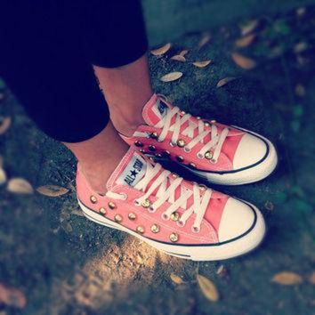 DCCKHD9 Studded low top CONVERSE all star shoes