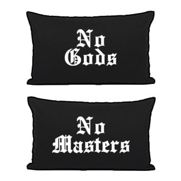 No Gods No Masters - Pillowcases | Black Craft