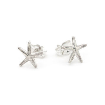 14K Gold Filled or Sterling Silver Sea Star Studs