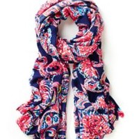 Lillian Oversized Scarf - For The Halibut - Lilly Pulitzer
