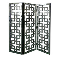 Crestview Hollywood Geometric Mirror Screen - CVFZR666