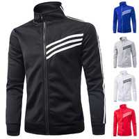 Zip Up Men's Track Sweat Jacket