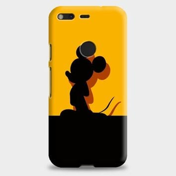 Mickey Mouse Pluto Chip And Dale Google Pixel XL Case