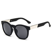 Random Design Metal Hinge Quadrate Sunglasses