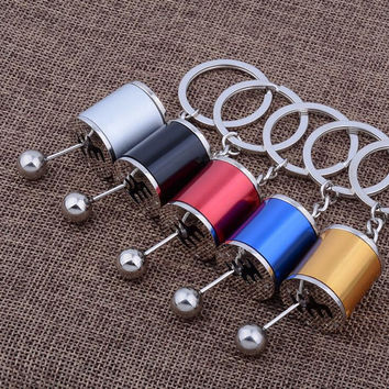 Six-speed Manual Transmission Shift Lever Keychain shifter