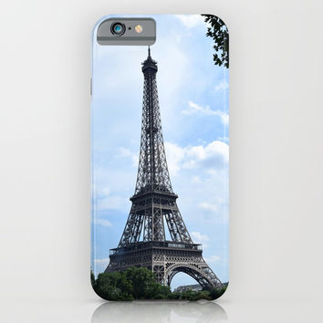 Eiffel Tower iPhone & iPod Case by Outside The Door