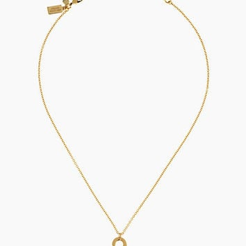 Kate Spade Privacy Please Do Not Disturb Pendant Gold ONE