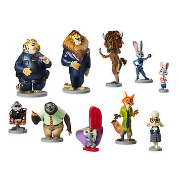Zootopia Deluxe Figure Play Set