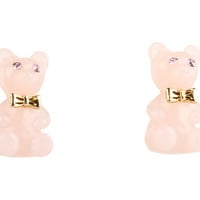 Betsey Johnson Candylane Gummy Bear Stud Earrings