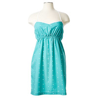 Xs Stella Chemise, Teal With White Dot, Pajamas