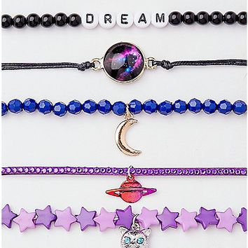 Dream Galaxy Bracelet - 5 Pack - Spencer's