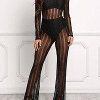 Sexy Pinstriped Bodysuit, Almost Gone Ladies