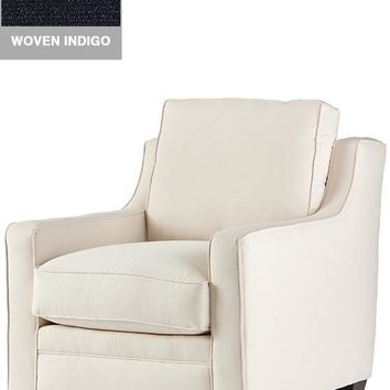 Custom Fulton Chair - Custom-upholstered Chair - Custom-upholstered Seating - Upholstered Chair - Living Room Furniture - Reading Chair - Upholstered Accent Chair | HomeDecorators.com