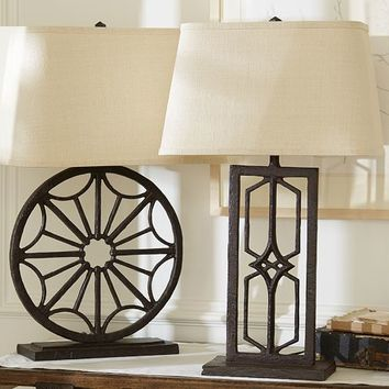 Gavin Iron Table Lamp Bases