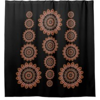 Bohemian Pattern Shower Curtain