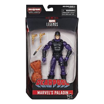 "MARVEL LEGENDS BAF SASQUATCH SERIES 6"" ACTION FIGURE: PALADIN"