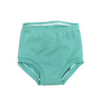 FRENCH TERRY HIGH WAISTED SHORTIES - MINT