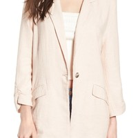 BP. Cinch Sleeve Blazer | Nordstrom