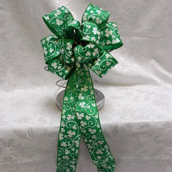 St. Patricks Day decorative Bow