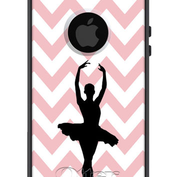 OTTERBOX Commuter iPhone 6 Plus 5 5S 5C 4/4S Samsung Galaxy S3 S4 S5 Note 2 3 Case Chevron Ballet Ballerina Silhouette Fashion Series