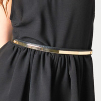 GOLD THIN METAL BELT