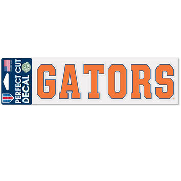 Florida Gators - Gators 3x10 Perfect Cut Decal