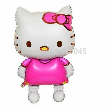 pcs  Large  Kitty  Baloon  Hello  Kitty  Party  Supplie