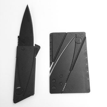 Credit Card Folding Knife