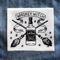 Whiskey Witch - White Patch