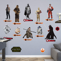 Star Wars Force Awakens Fathead Collection