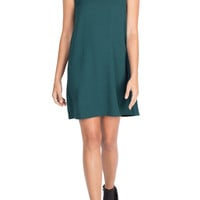 Emerald Shift Dress-FINAL SALE