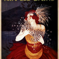 Aix-Les-Bains Prints by Leonetto Cappiello at AllPosters.com