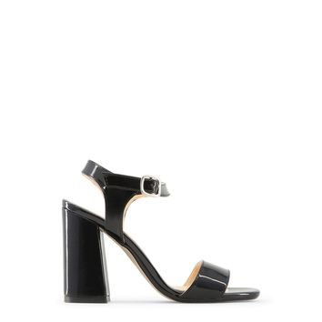 Made in Italia Women Black Angela Sandals