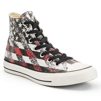 Converse Chuck Taylor All Star Men's American Flag High-Top Sneakers (Black)