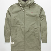Lira Factor Mens Jacket Olive  In Sizes