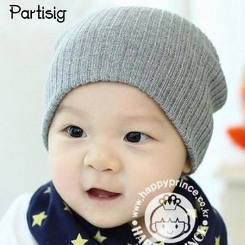 Baby Hats Knitted Autumn Winter Baby Caps For Boys Girls Children's Winter Hats All For Children's Clothing And Accessories