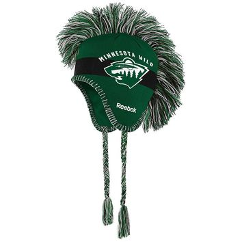 Reebok Minnesota Wild Mohawk Knit Cap - Youth, Size: One Size (Green)