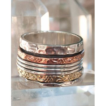 Zaliki Meditation Spinner Ring (BJS011)