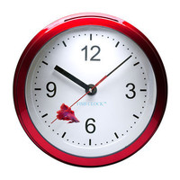 Aquavista: Betta Fish Clock Burgundy, at 41% off!