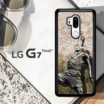 Michael Jordan Slam Dunk Carbonite V0979 LG G7 ThinQ Case