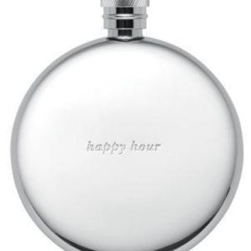 Silver Street Happy Hour Flask   Kate Spade New York