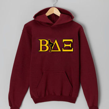 beta house fraternity maroon hoodie for men and women