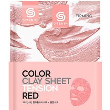 G9 Skin Color Clay Sheet Calming Green
